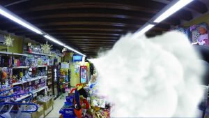 antifurto nebbiogeno ufo in tabaccheria