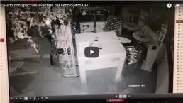 UFO nebbiogeno antifurto